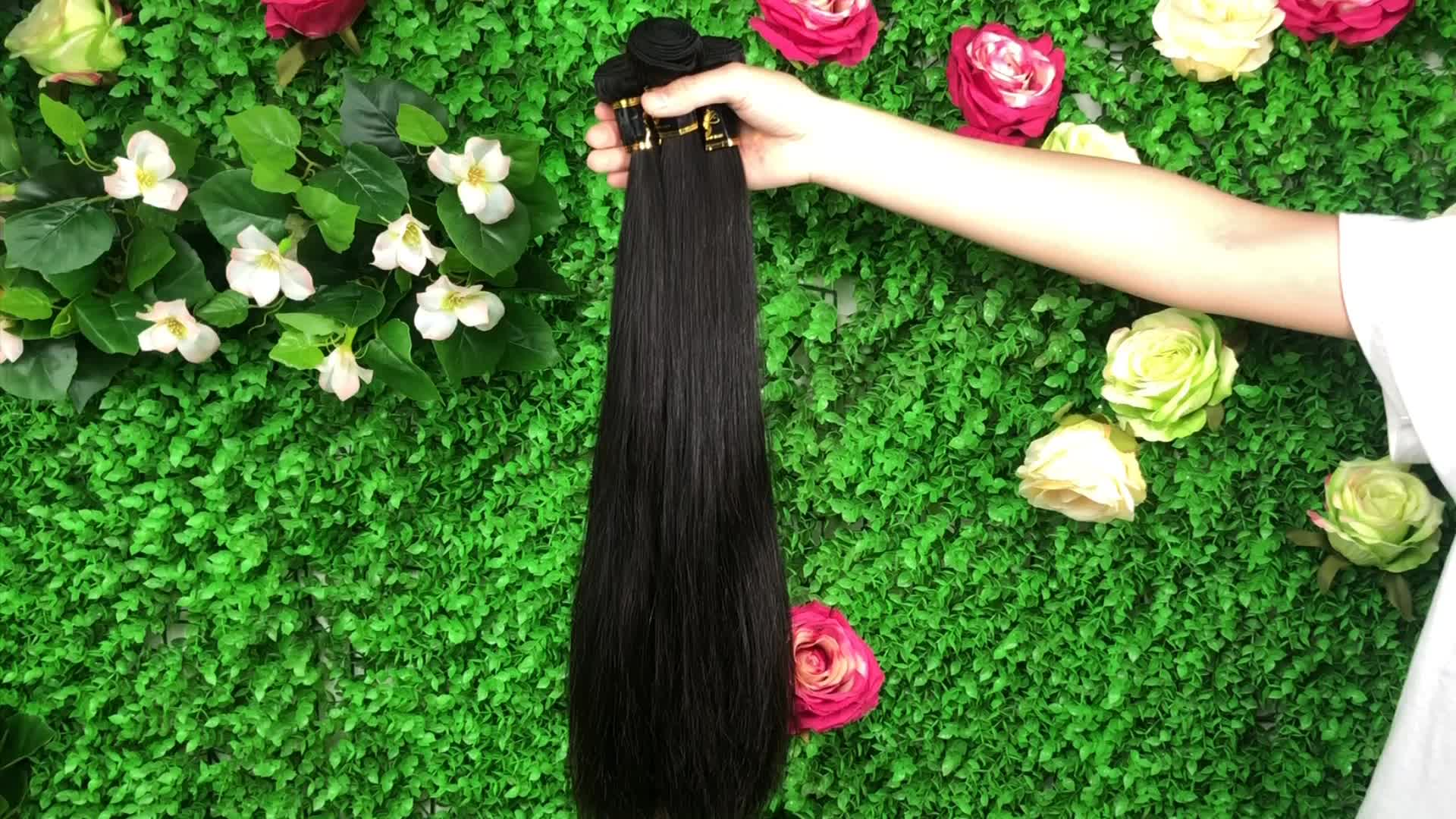 Aosun Wholesale Cuticle Aligned Hair From India,10a Virgin Indian Human Hair,Wavy Unprocessed Raw Indian Hair Bundles