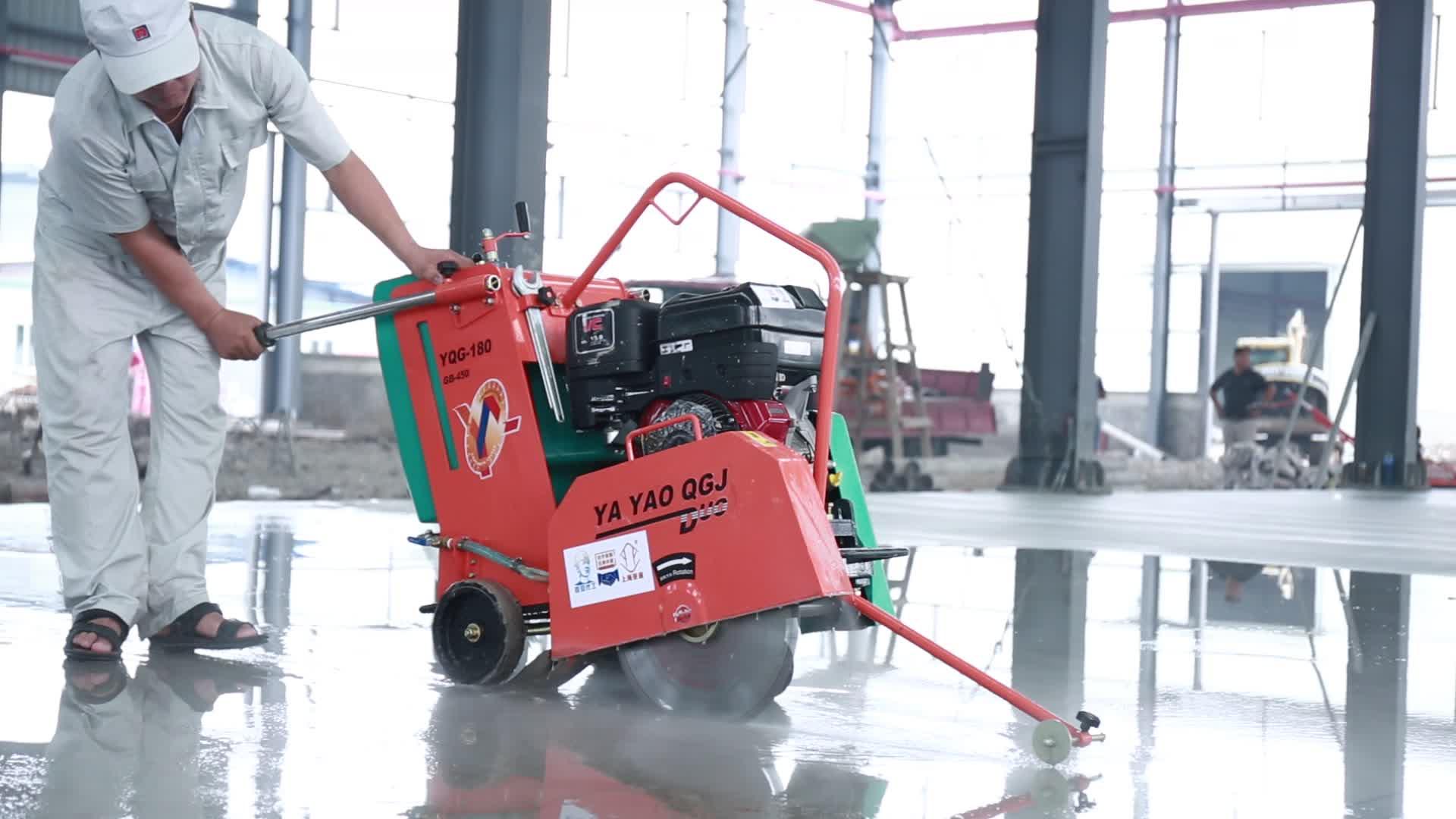 Máquina de corte concreta quente do cortador CC120 do pavimento do asfalto da venda de CONMEC com CE