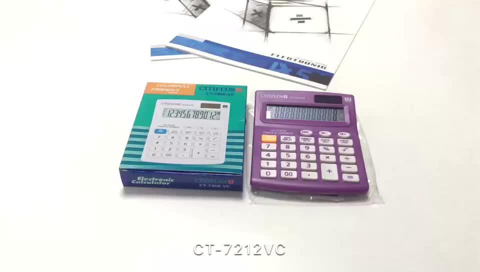 Cadeau coloré calculatrice de promotion impression personnalisée calculatrice pour article cadeau