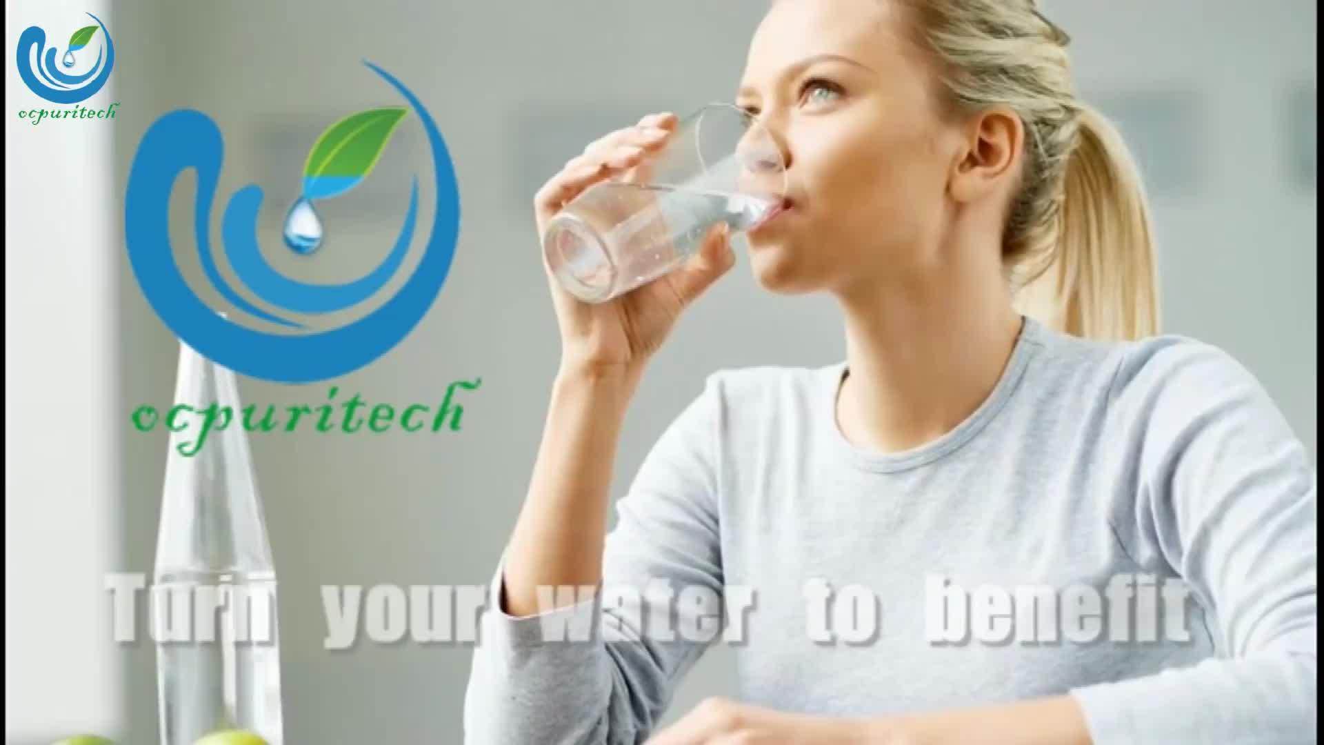 75GPD 5 etapas de ósmosis inversa RO sistema de purificación de agua