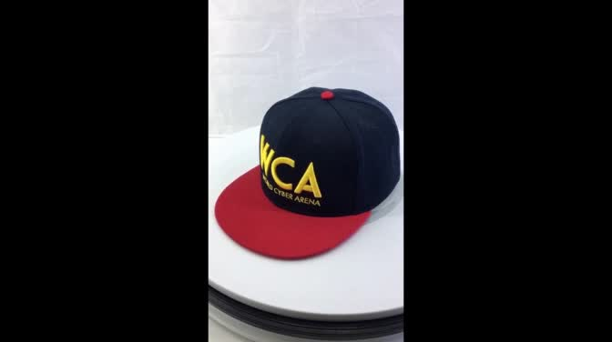 Customized color Private Label Fitted Sports Baseball Caps cotton twill cap
