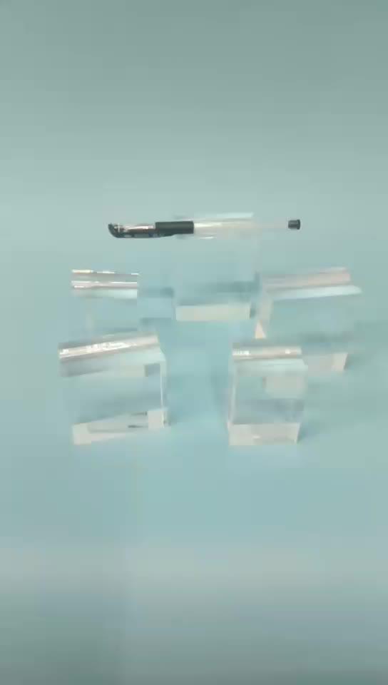 2018 New Design WeiHai Pen Acrylic Block Display