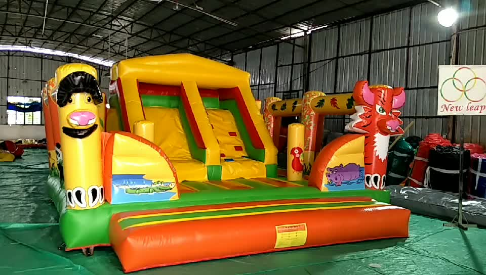 bee inflatable playground jumping castle slide combo inflatable bee park bouncer castle for kids