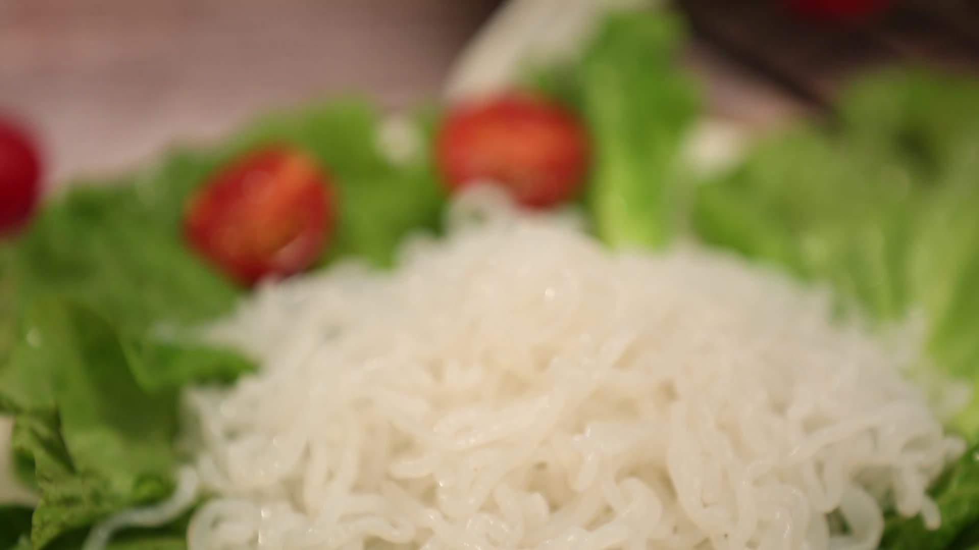 Nourriture sans Gluten riz instantané konjac/riz shirataki à faible teneur en calories