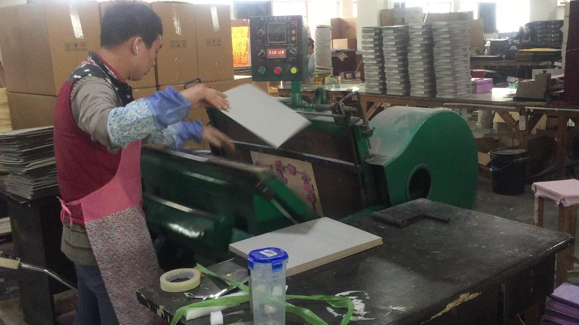 ML930 Well Karton Well Flöte Box Schneiden Maschine Stanz Maschine Hersteller