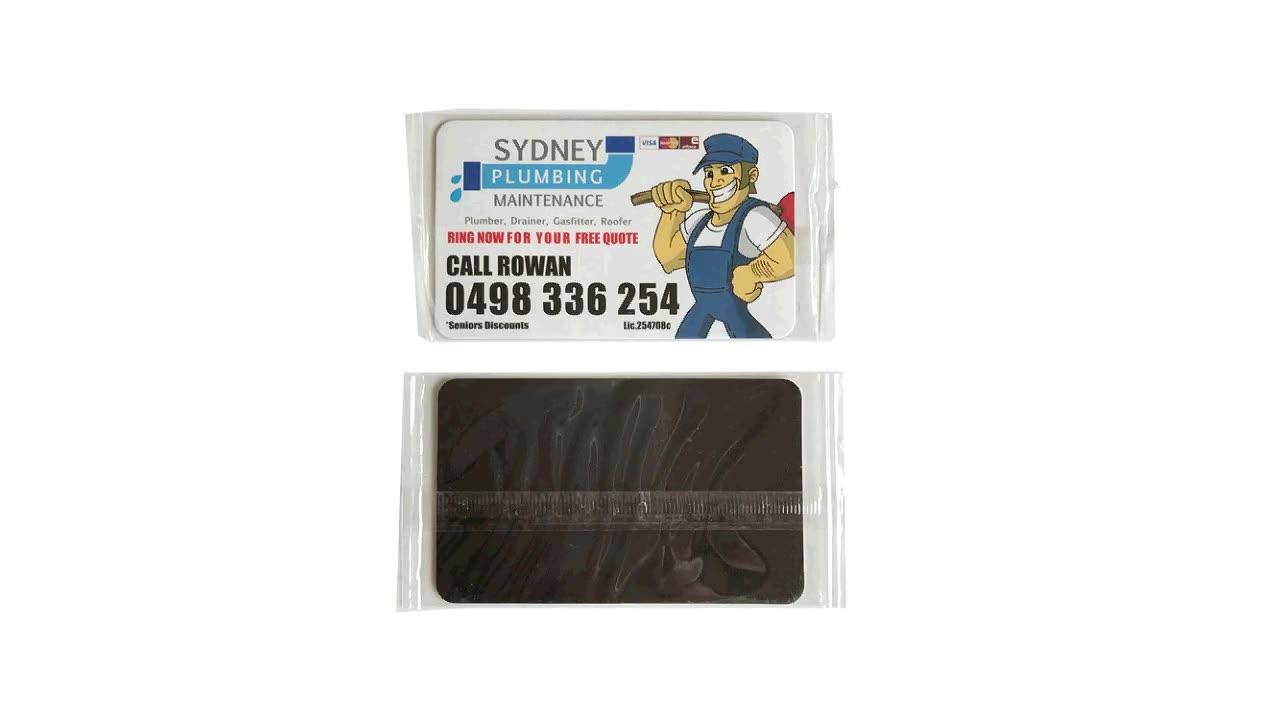 China Factory Cheap Custom Give away Business Card Size Australia ...