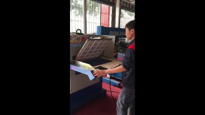 high quality leather embossed shoe printing machine