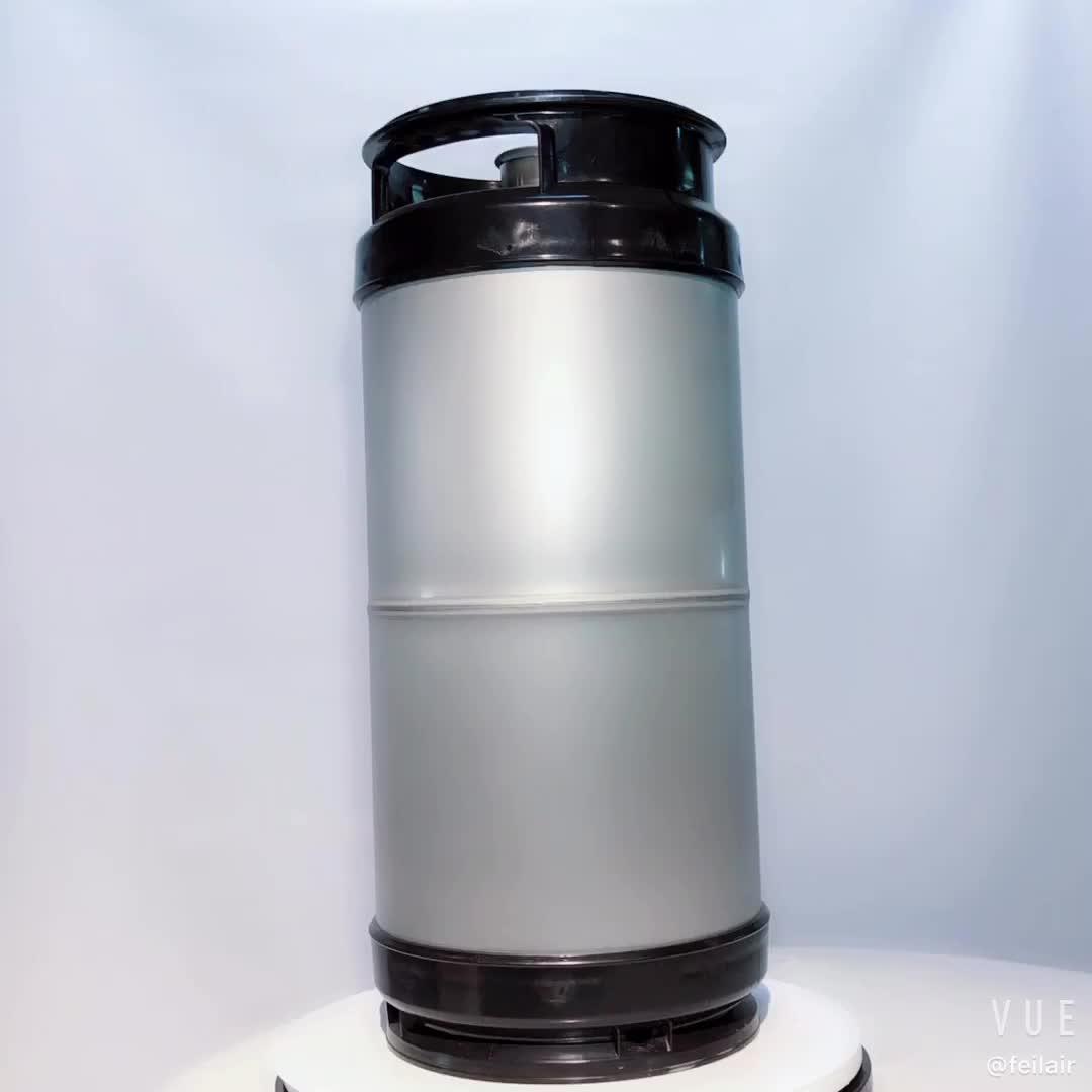 EURO 50L Paslanmaz çelik bira fıçısı varil/plastik kaplama şarap fıçısı/ev bira varil