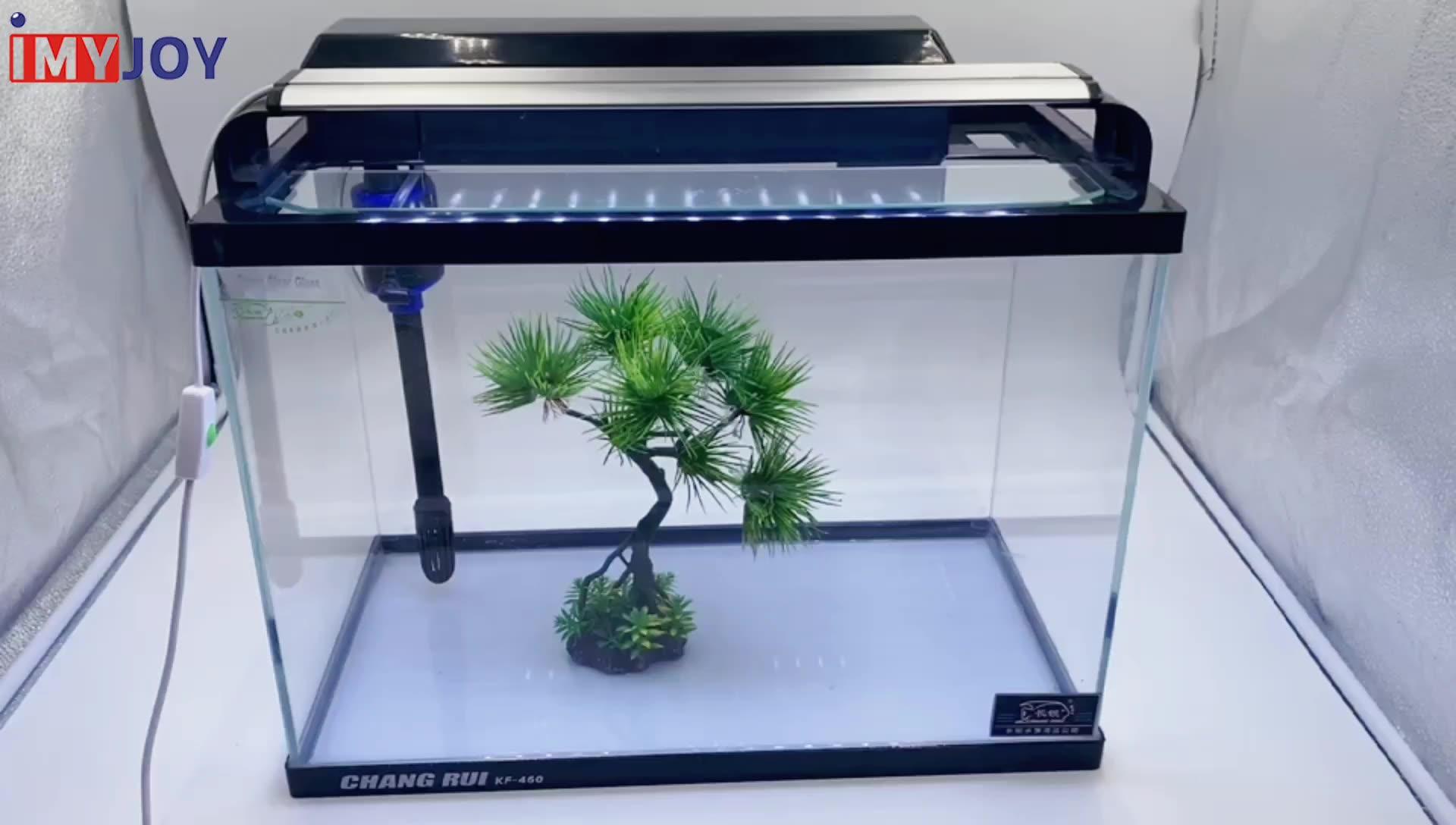 Personnalisé bols de poisson en verre super clair verre d'aquarium plantes aquatiques paysage poisson réservoir