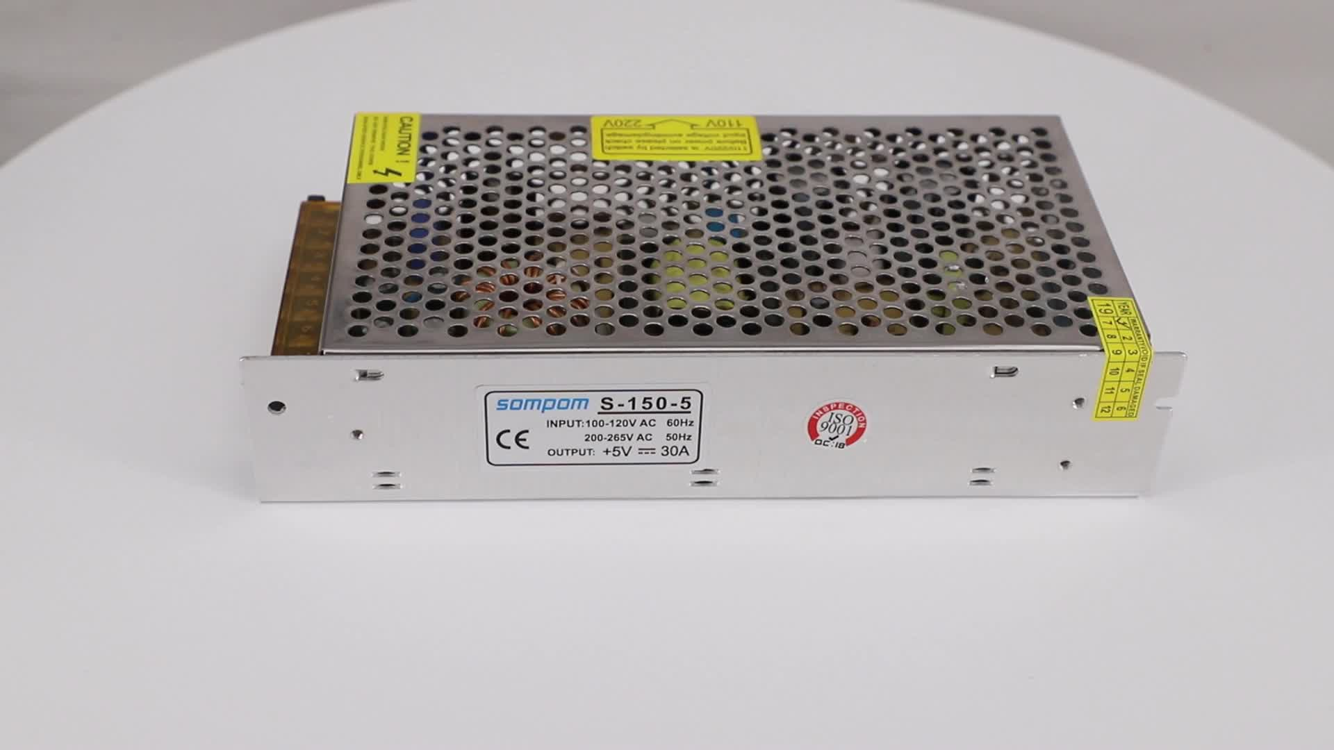 Sompom Switching Power Supply 5v 30a 150W Led Driver Transformer