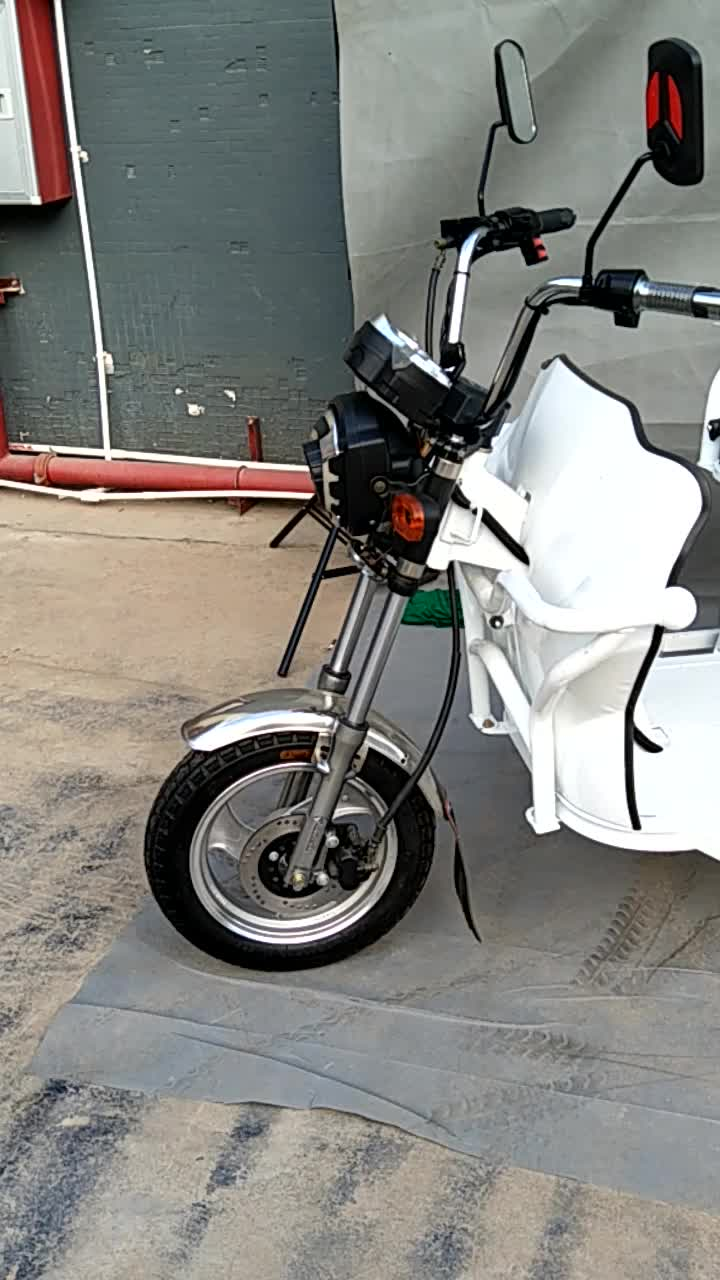 Foldable passenger tricycles electric cargo tricycles