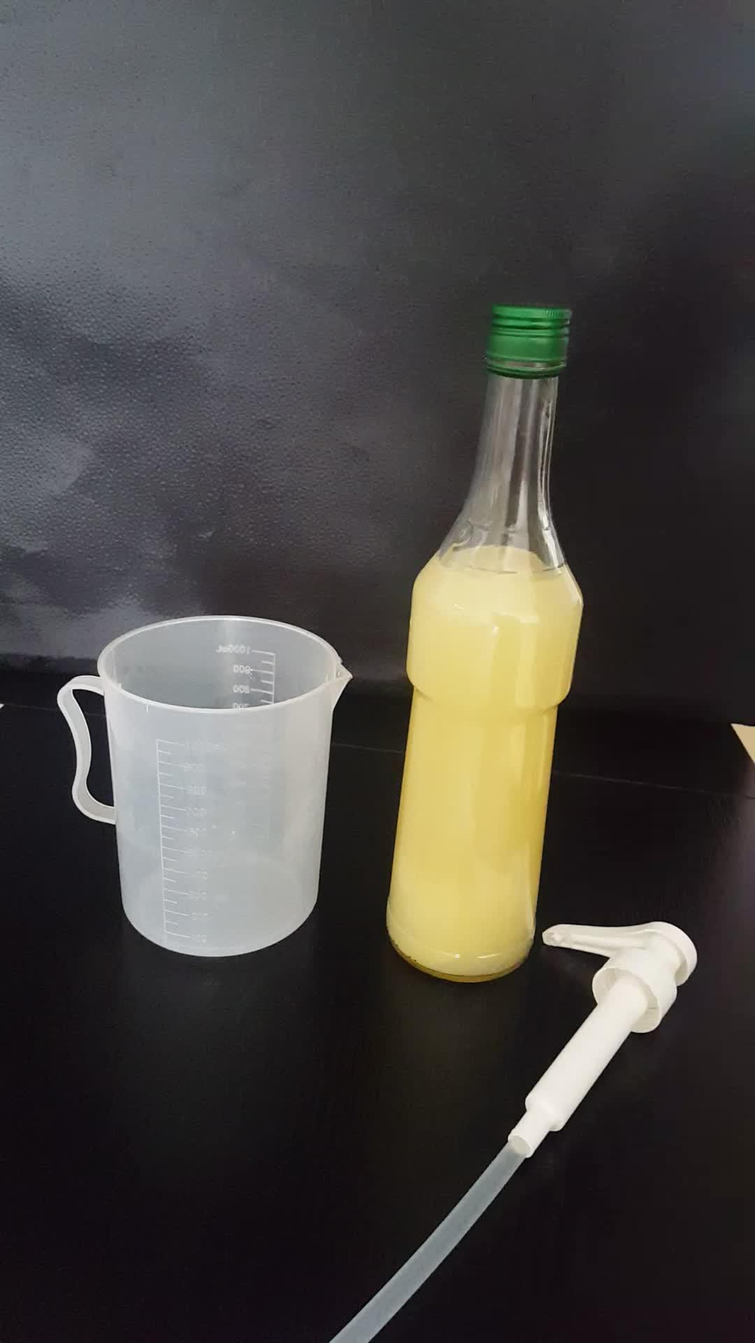 42/410 de plástico de calidad alimentaria 8cc/10cc botella de jarabe de kepchup salsa bebidas de jugo de galón de bomba de dispensador de