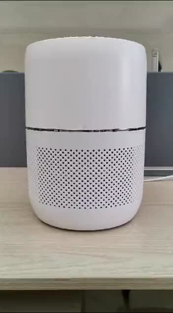 ionization air purifier with remote control and 3 colour light and Wifi function  CE/CB