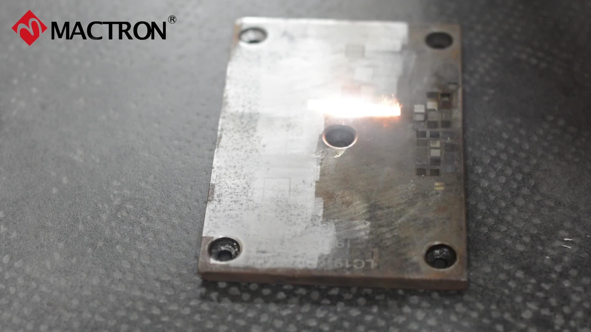 50W 100W Laser Reinigingsmachine voor Ontroesten