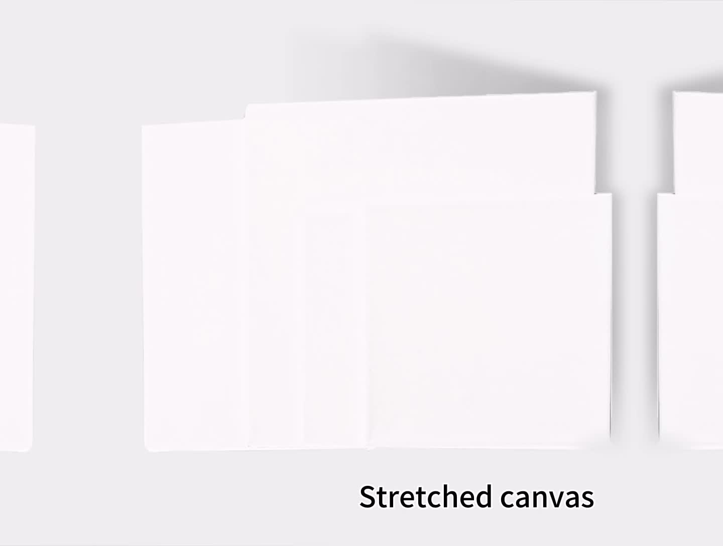 wholesale large cotton stretched painting artist primed canvas frames blank for acrylics, blank canvas for artist stretched