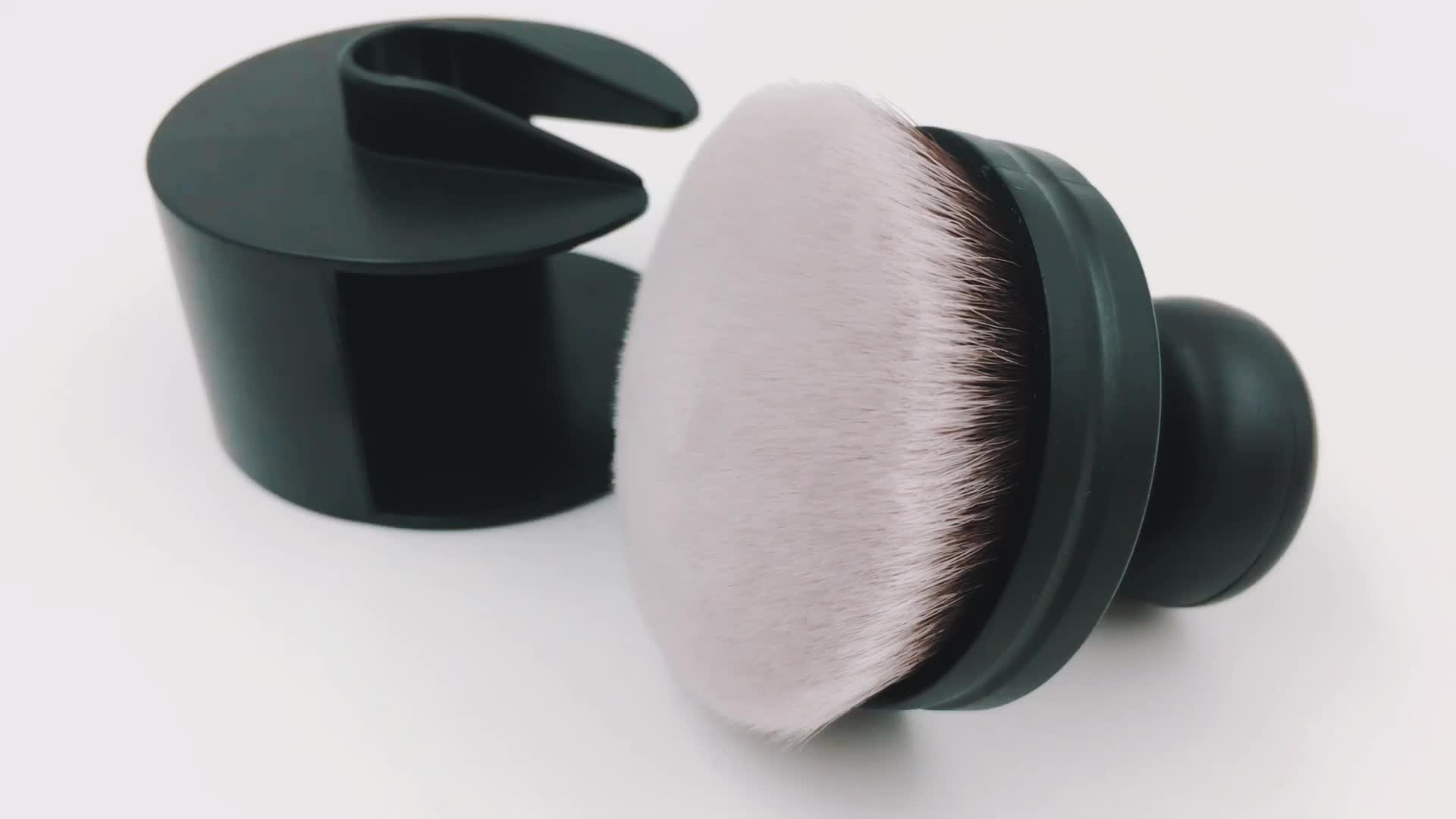 Popular Super Soft Mini foundation brush with protect cap set