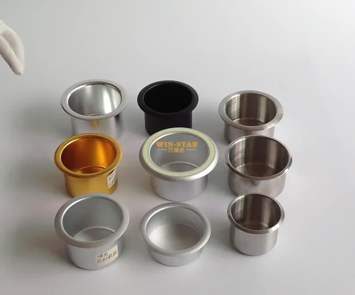 Алюминиевый держатель чашки таблицы для таблицы покера и стула Кино