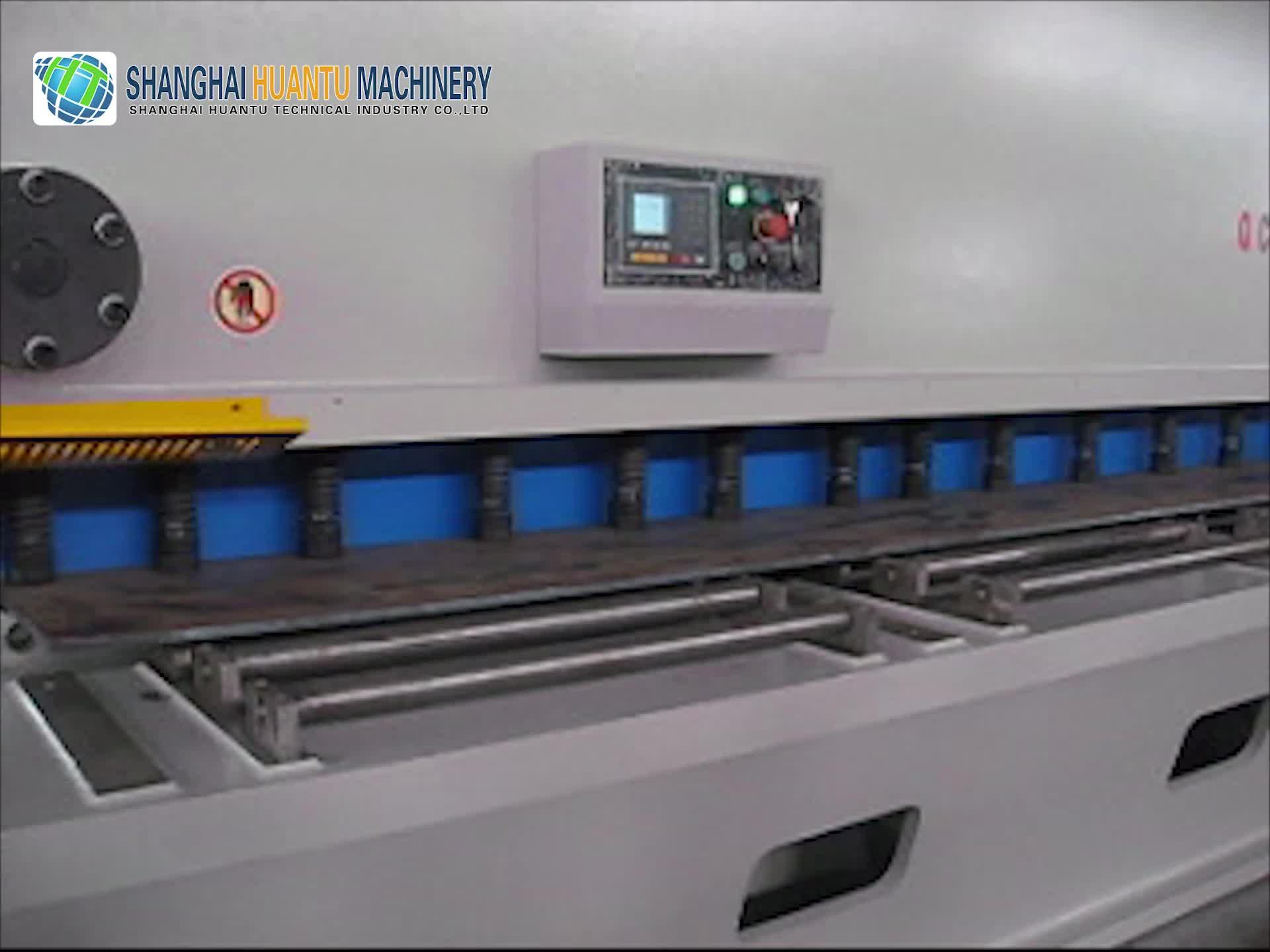 Avrupa standart paslanmaz çelik levha kesme makinesi/demir plaka sac kesme makinesi/giyotin kesme makinesi