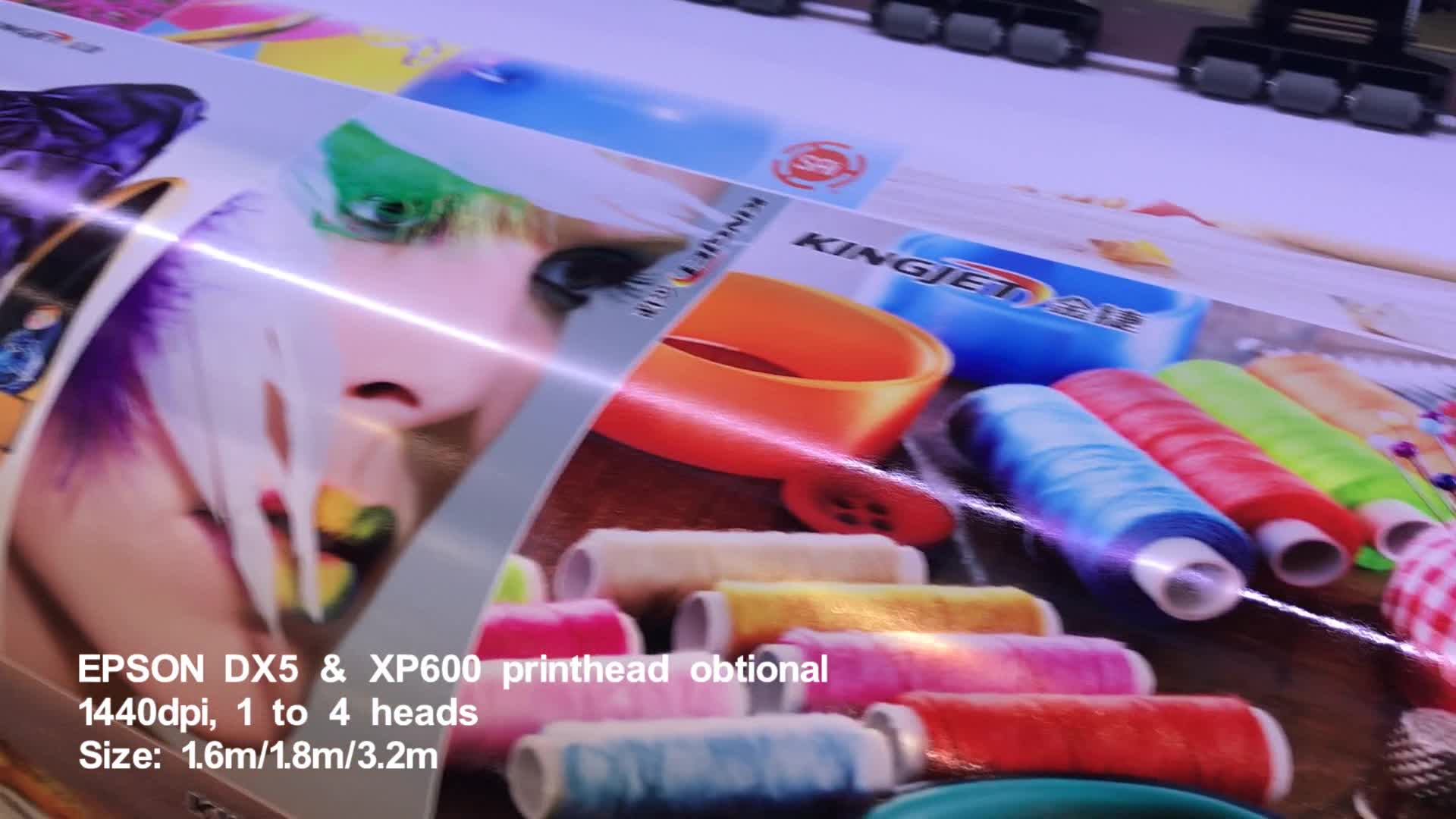 Inkt Jet Indoor Drukmachine EcoSolvent Kleur Vinyl Canvas Printer Plotter Voor Canvas