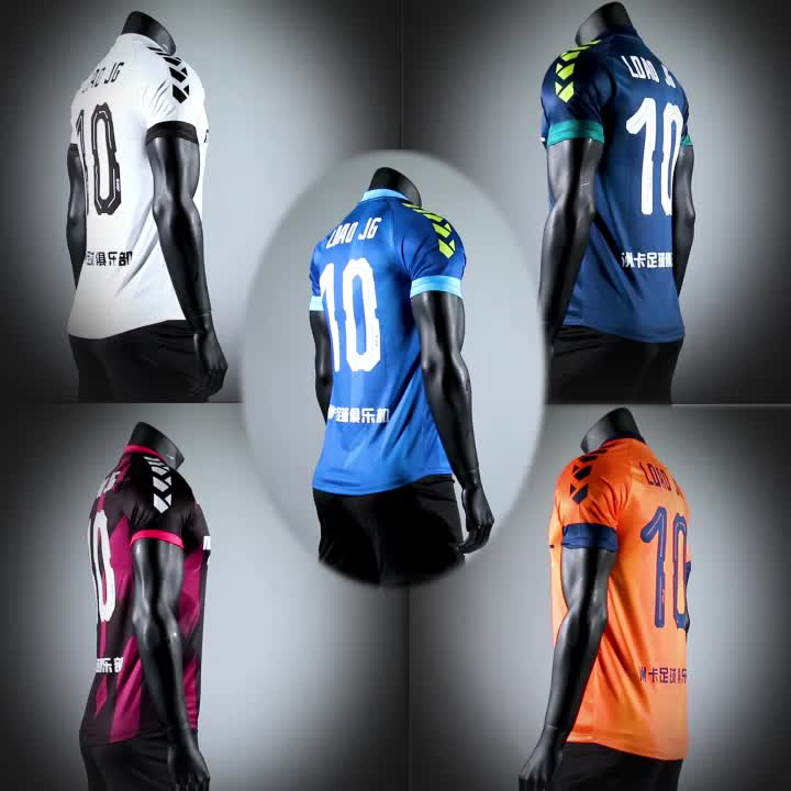 Best Site To Online Soccer Jerseys Soccer Training Uniform Clothes Cheap Blank Football Jersey For Teams