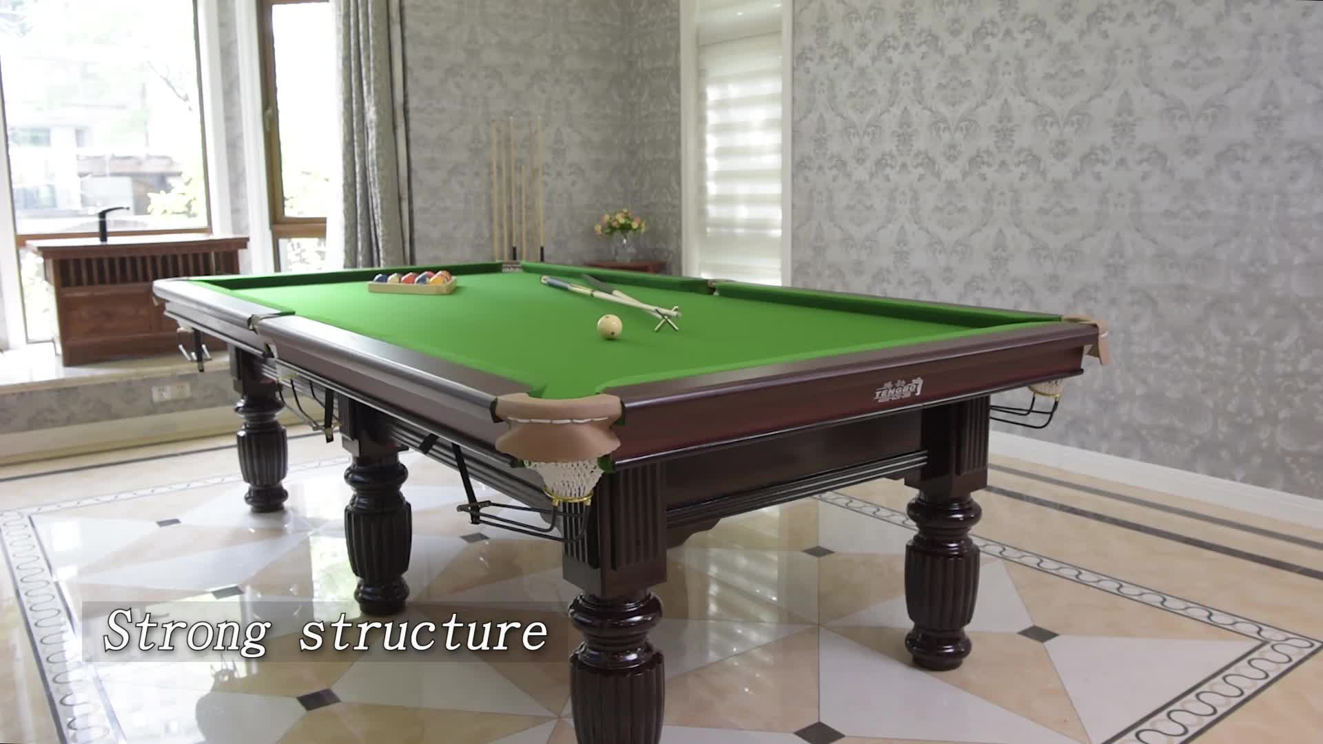 High Quality Pool Table Cheap Price Slate Billiard Table