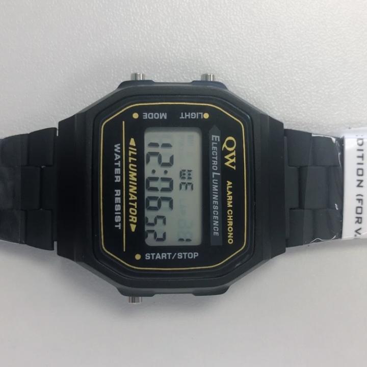 QW 0 税配信翌日女性防水メンズ女性 Montre スポーツカスタムリロイ Mujer のためのデジタル腕時計カシオ