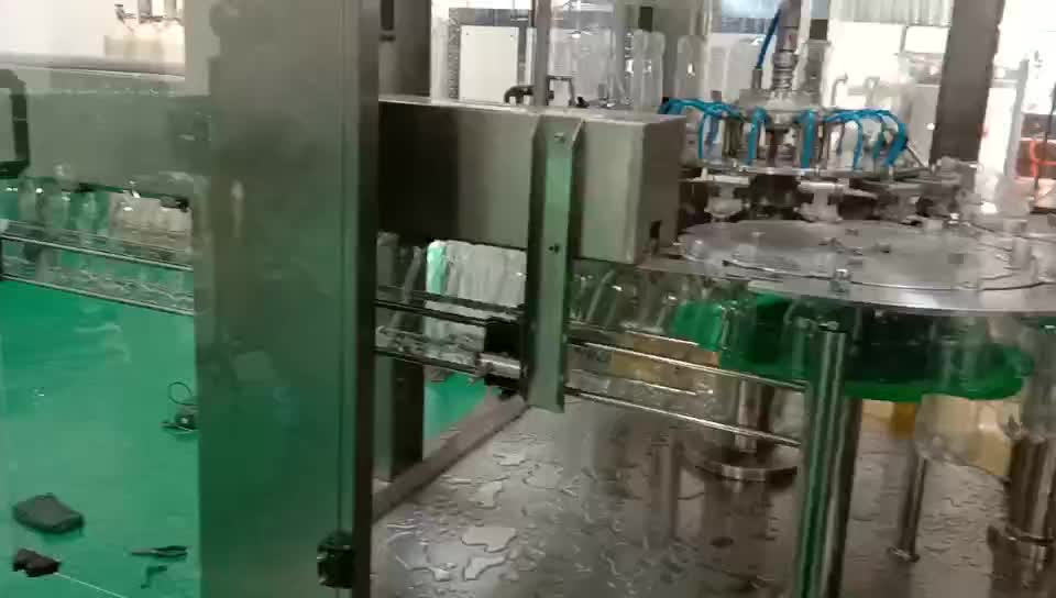 Automatic small soda water making plant / carbonated juice production line / filling machine