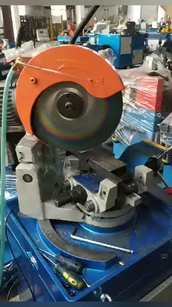 MC-315 Semi automatic square tube circular sawing machine,small steel pipe cutter machine