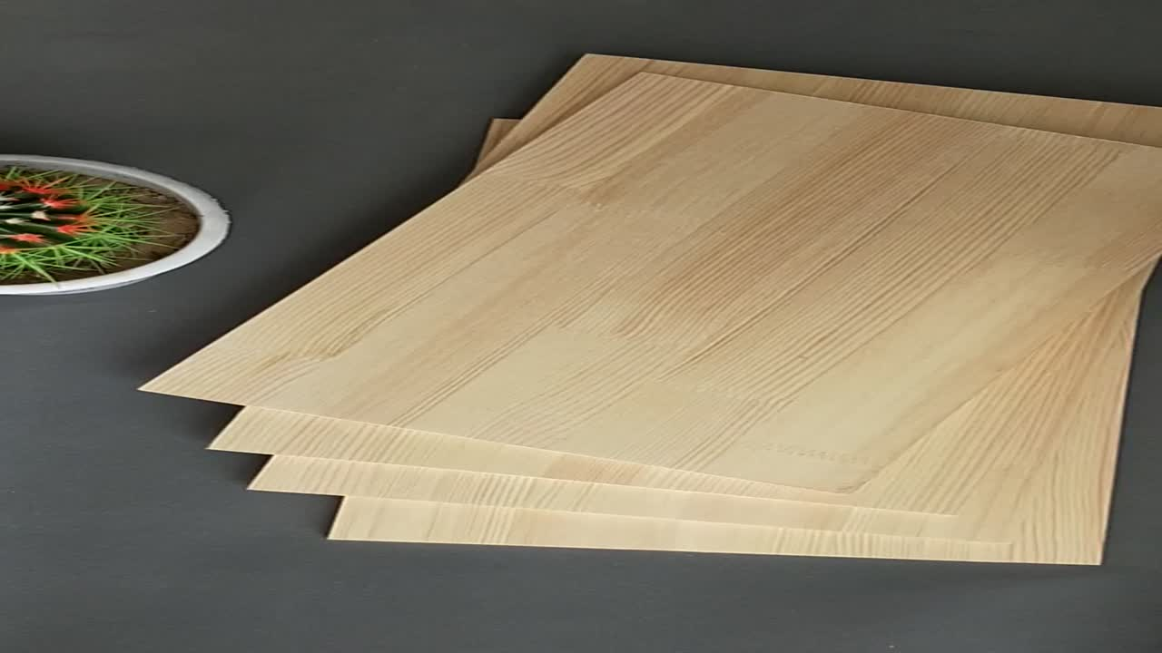 Pine Board Grade Edge Glued Finger Joint Wood Board from China Factory