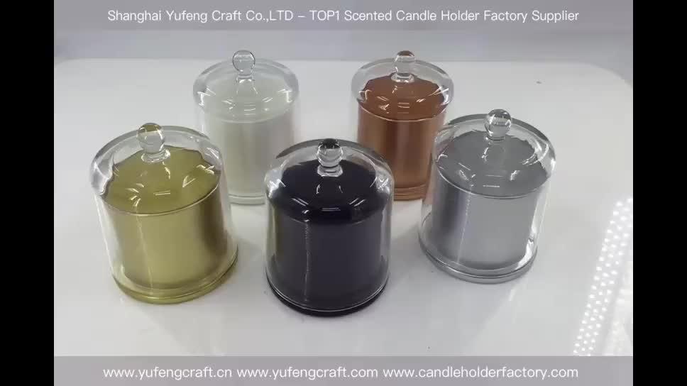 Cúpula plana frasco de yufengcraft