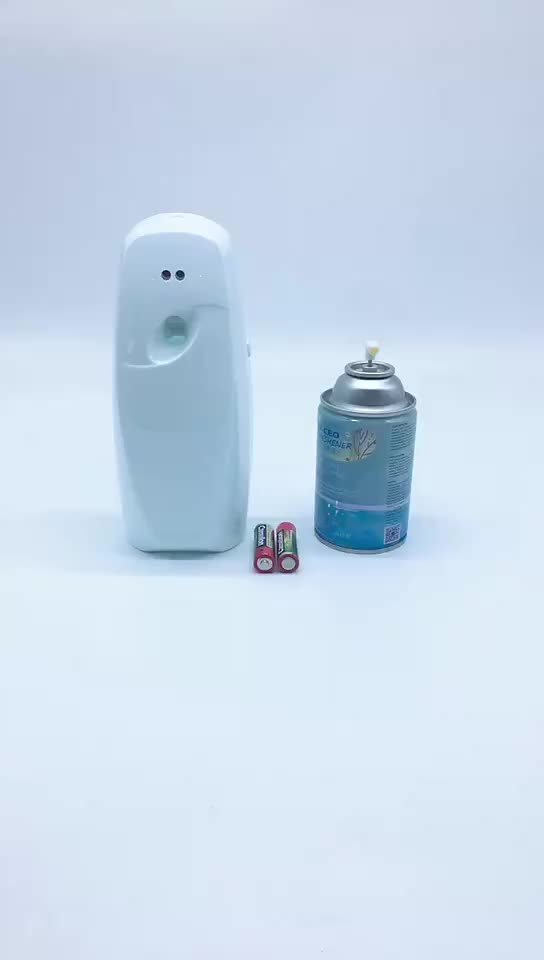 Air Freshener Motion Sensor Aerosol Spray Perfume Dispenser