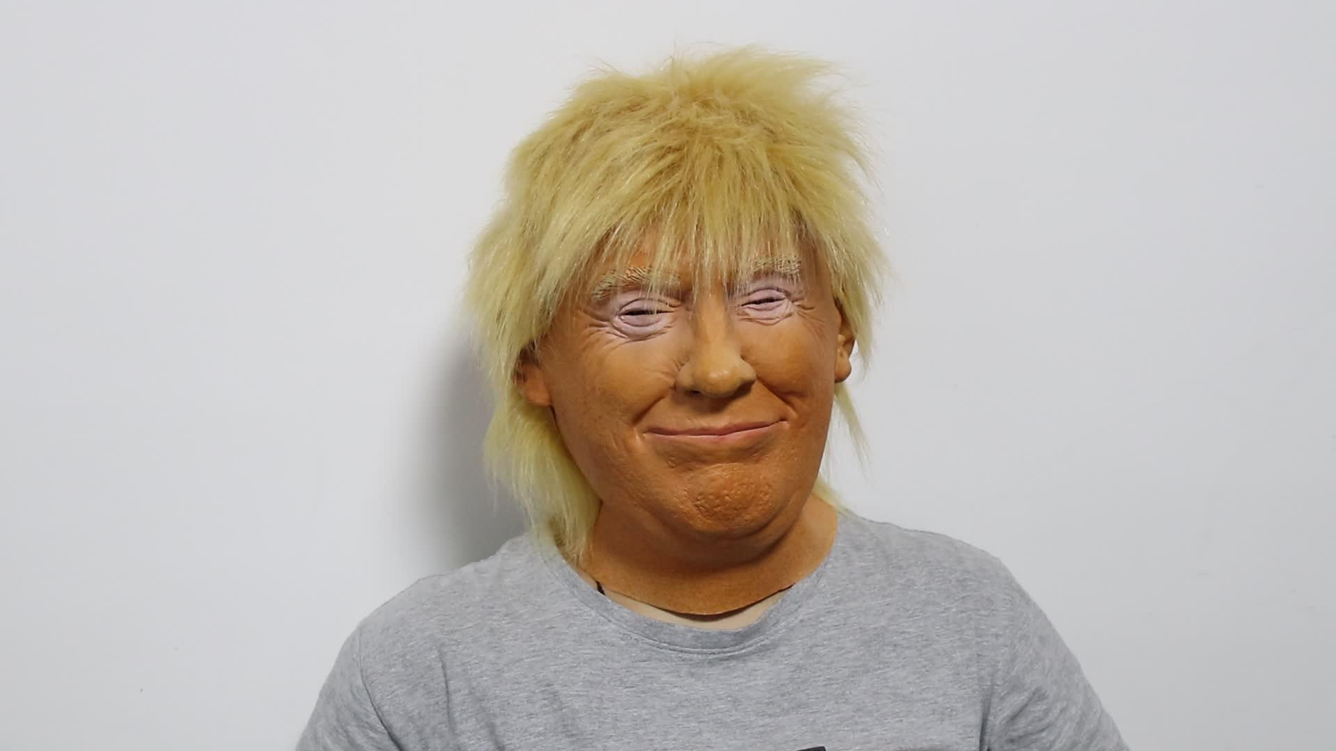 2018 Donald Trump Latex Masker Realistische Masker Halloween Masker