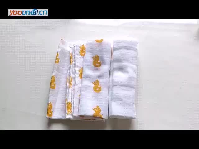 ผ้าฝ้ายคู่พิมพ์ตาข่ายทารกน้ำลายผ้าขนหนู,ผ้าอ้อมเด็ก