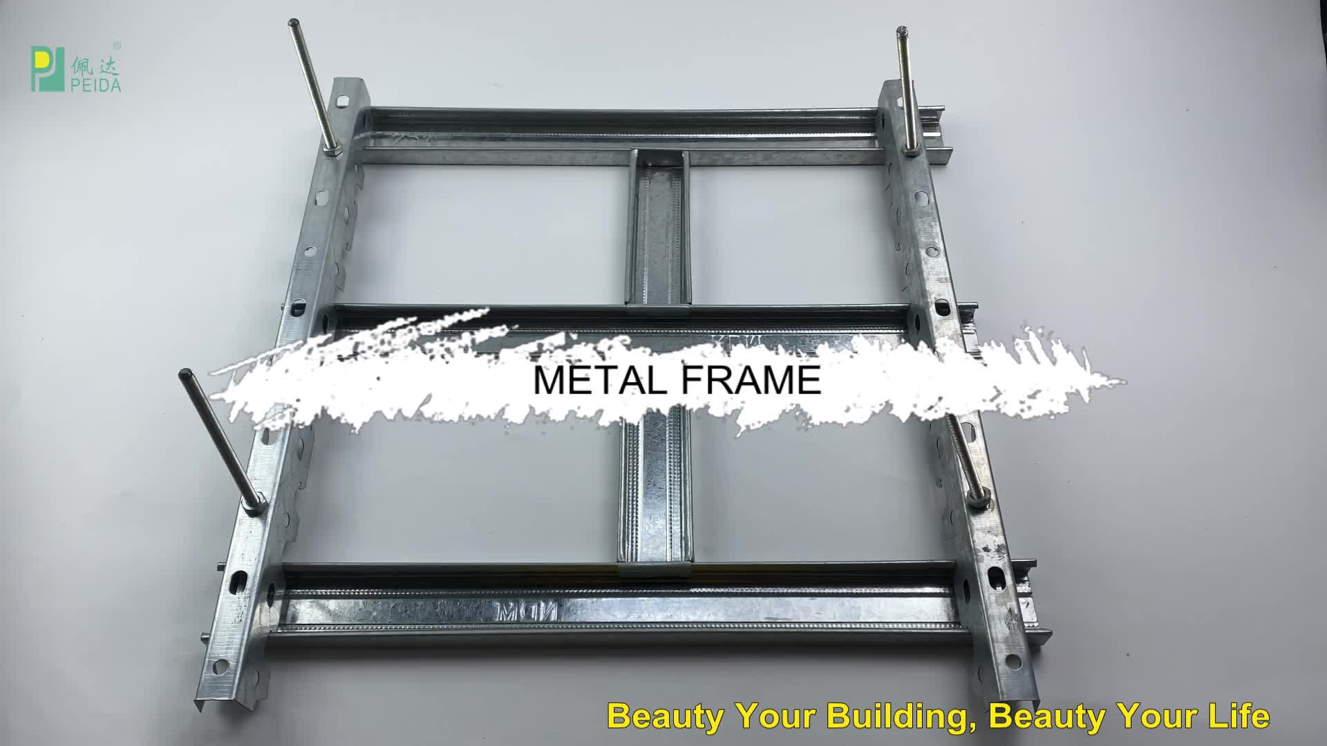 Galvanized Metal Wall Stud Partition Metal Profile