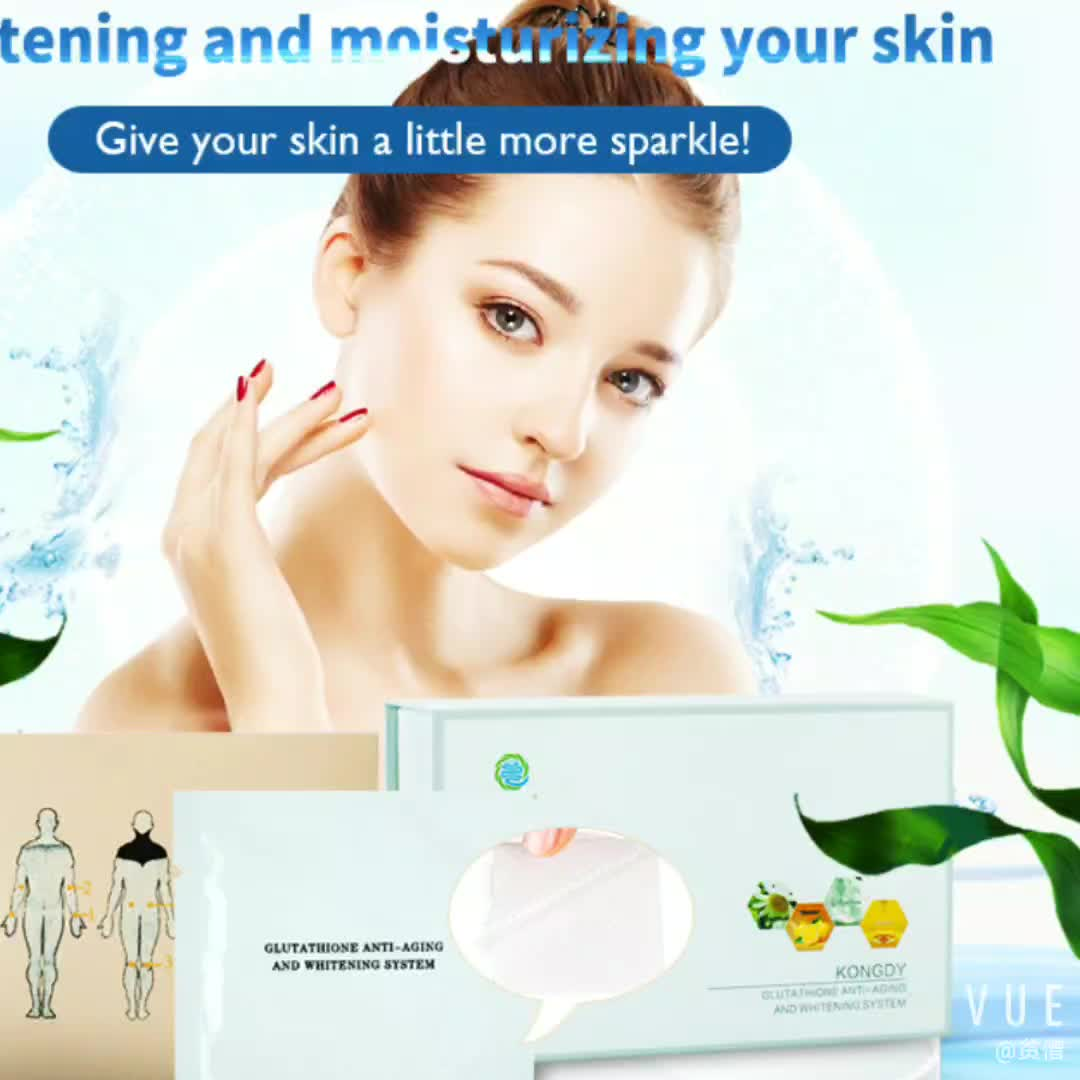 Free sample oem service Skin Whitening Cream Patch