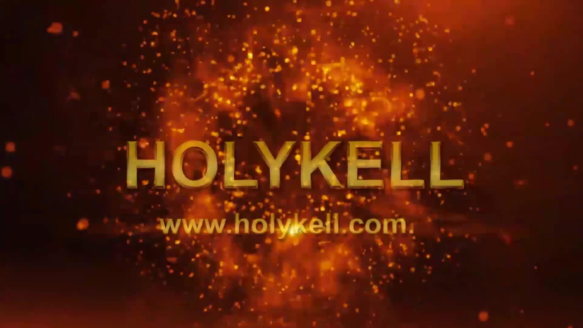 Holykell OEM 4800 liquid sewage water flow meter
