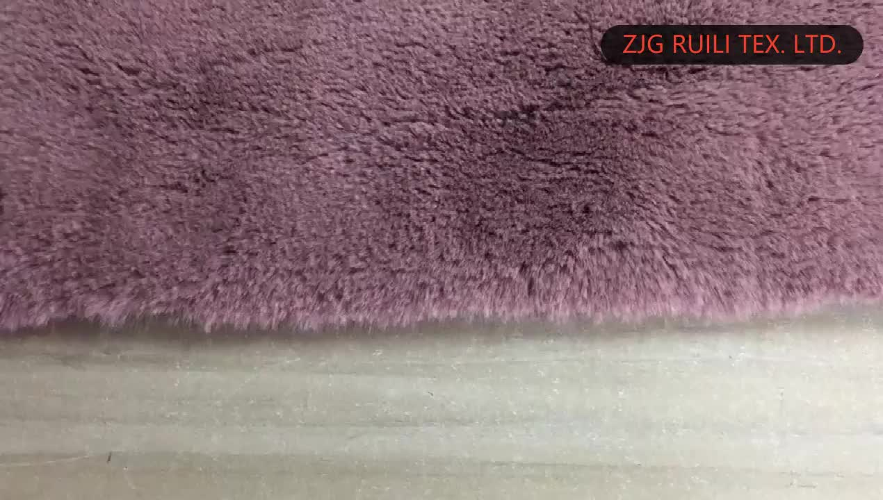 faux fur fake fur bonded suede fabric composite fabric