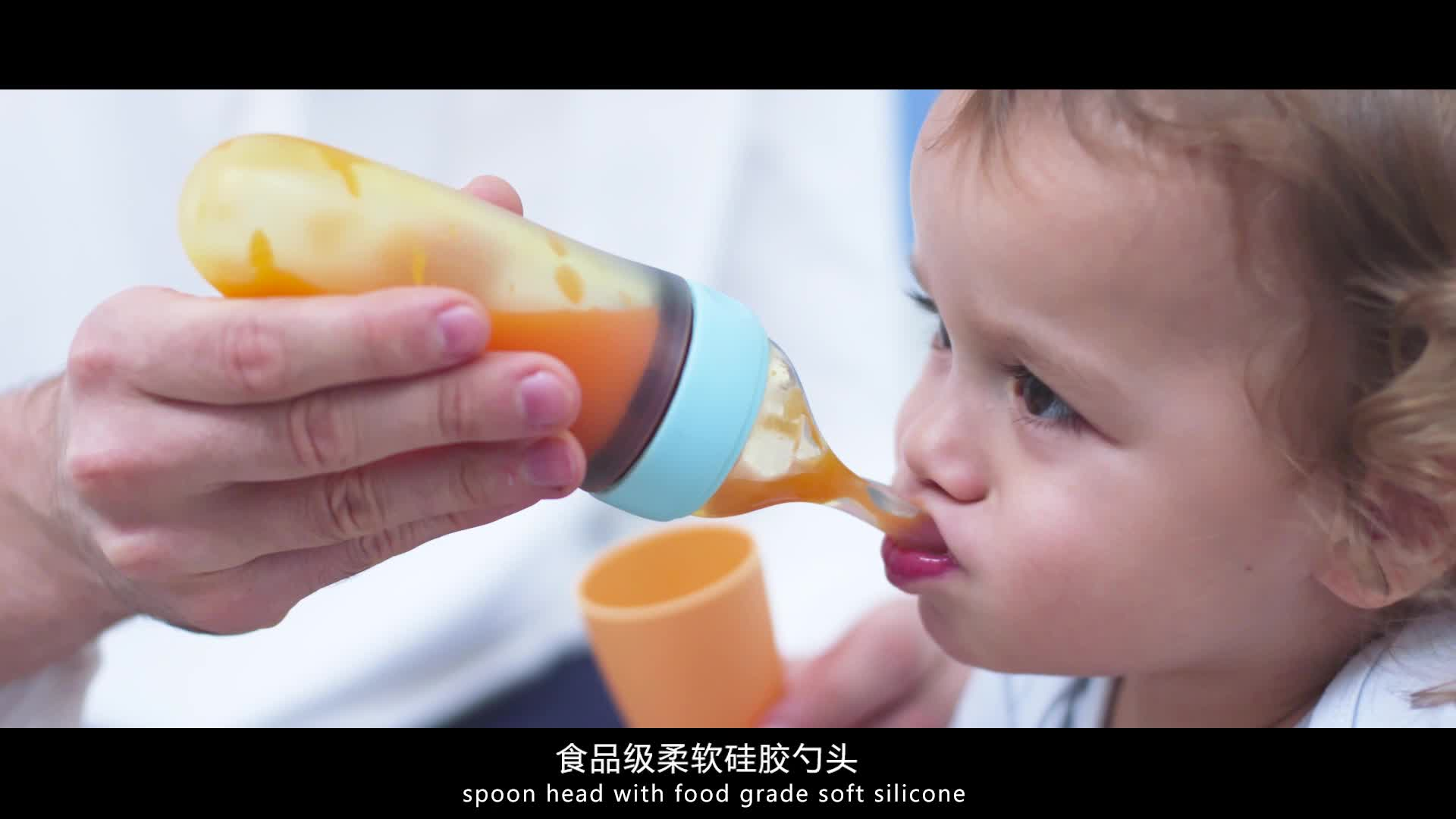 Baby products of all types baby feeding bottles manufacturing custom logo spoon baby feeding bottle