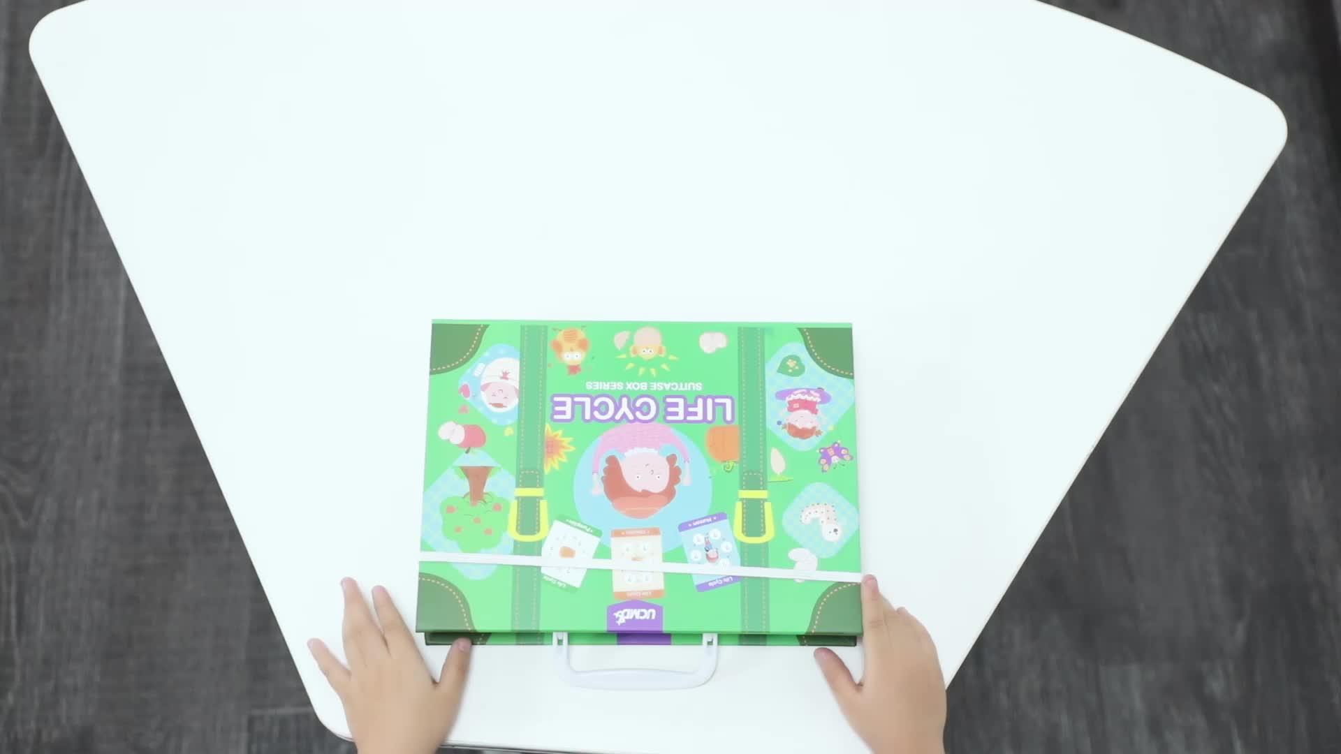 Crianças Brinquedos educativos Animal Puzzle Quebra-cabeças Magnéticas para Crianças