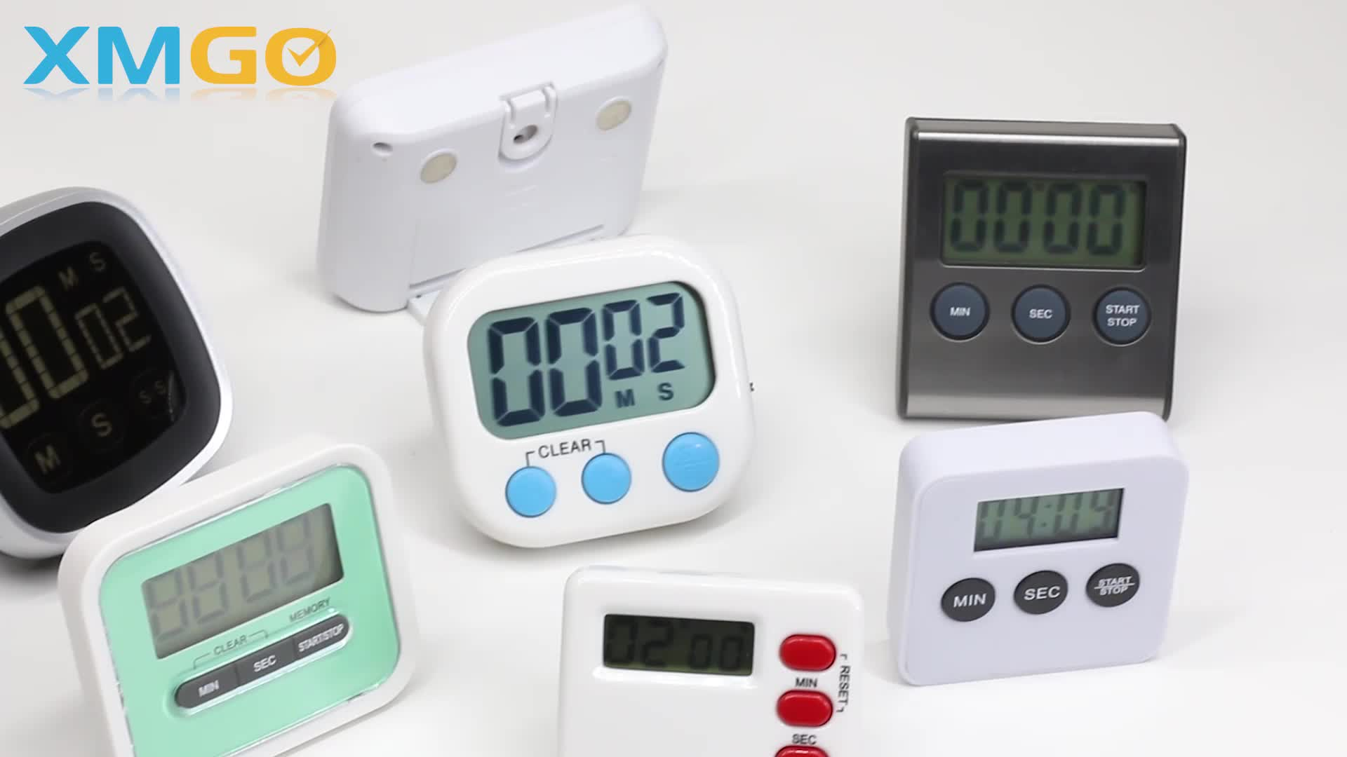 KH-TM001 KING HEIGHT New Design LCD Display Magnetic Kitchen Countdown Digital Gym Time Timer