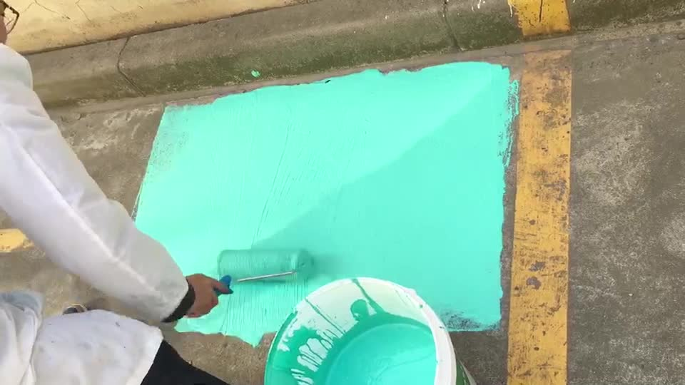 Roofing Coating 951 Color High Elastic Liquid Rubber Waterproof Coating For  Concrete Surface - Buy Acrylic Waterproof Latex Paint,Liquid Rubber