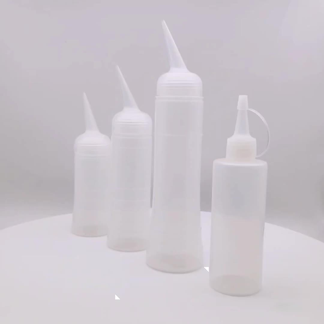 Clear plastic cosmetic PP nail polish remover pump bottle 180ml 220ml