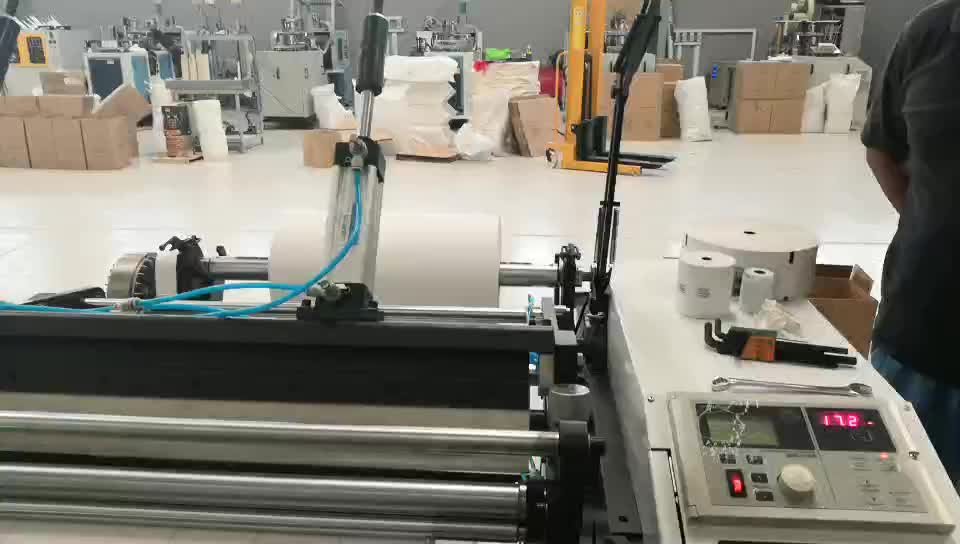 made in China efficiency Havesino stable voltage 380V good price high quality professional auto thermal paper slitting machine