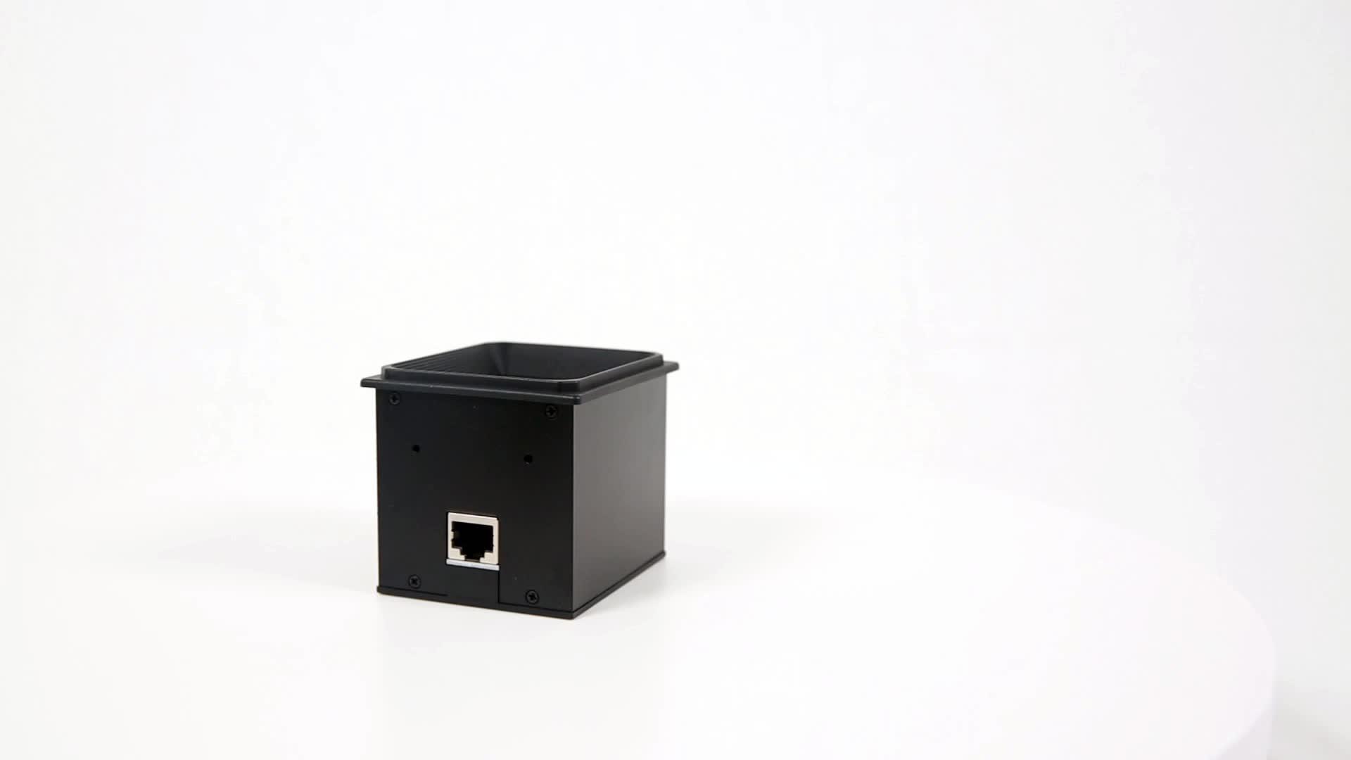 YK-EP3000 Modul Pemindai Kode Batang 2d, Wifi dan Rs232 Usb Rs232 Pemindai Dudukan Tetap untuk Kontrol Akses Kios Bar Pembaca Kode QR