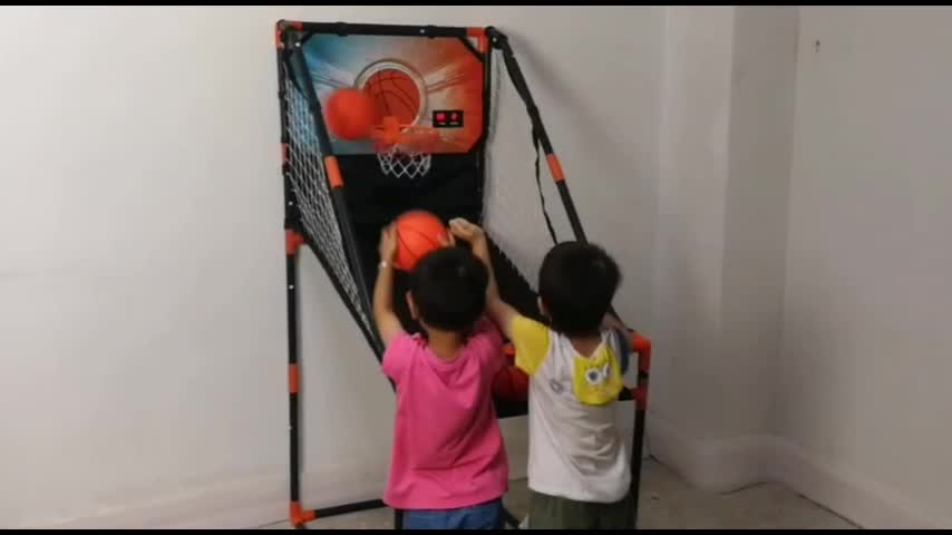 low price  PVC Tube Basketball Shooting Machine