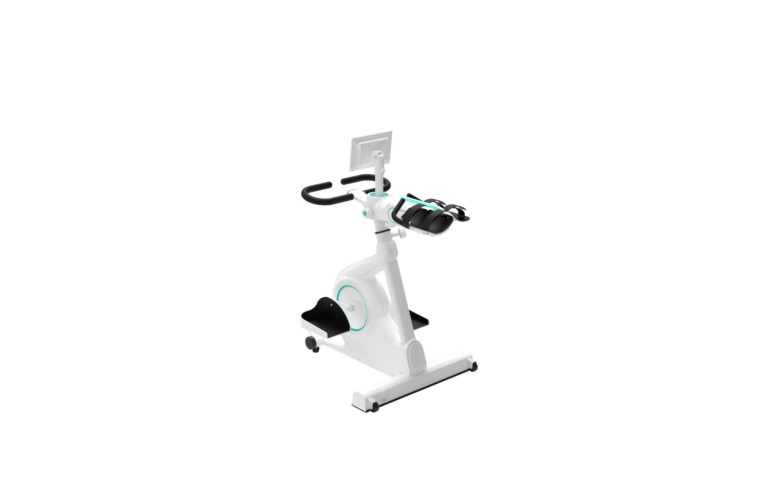 팔과 다리 회복을 위한 물리 치료 장비 치기 개화 치료 기계