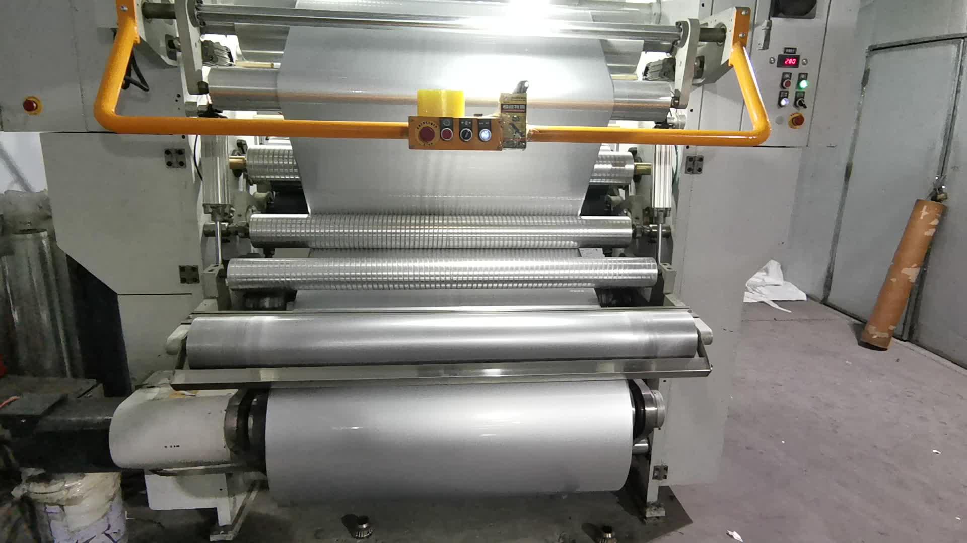 Fabriek Levering China Blauw Aluminium Gelamineerde Release Film Folie Kleur Aluminium Film