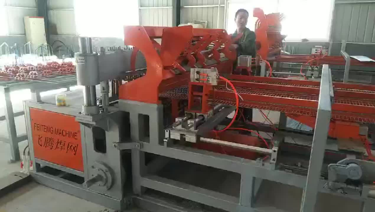 China Supplier Battery Cages Mesh Welding Machine