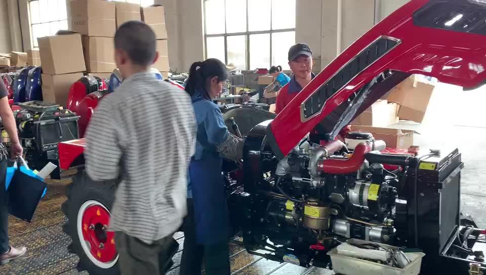 China cheap 50hp 60hp 70hp 80hp 90hp 4wd  farm agricultural garden tractor