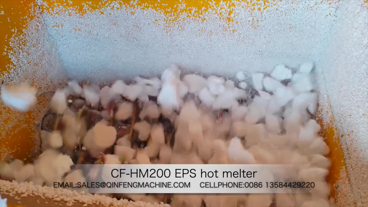 High quality good popularity plant, EPS hot melting machine with CE